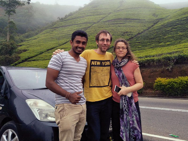Private Driver in Kandy : Sri Lanka Driver Hire with Car in